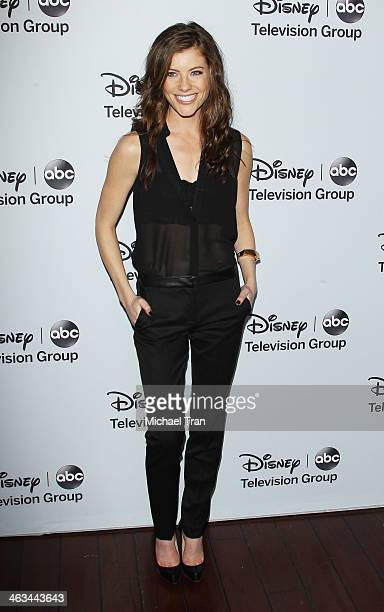Devin Kelley arrives at the ABC/Disney 2014 Winter TCA party held at The Langham Huntington Hotel and Spa on January 17 2014 in Pasadena California