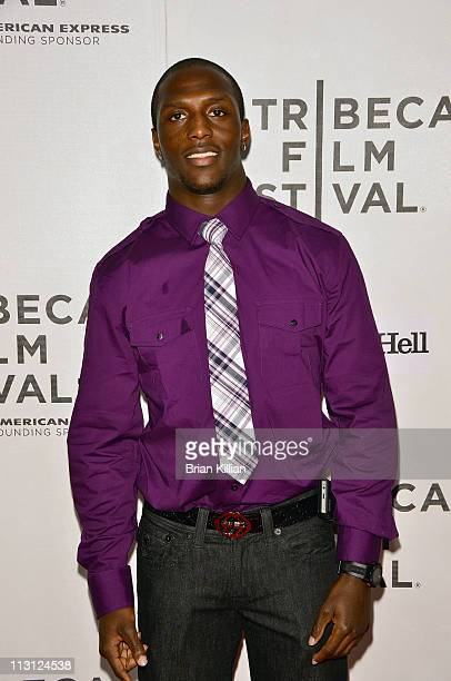 Devin McCourty of the New England Patriots attends the Tribeca/ESPN Sports Film Festival Gala 'Catching Hell' during the 10th annual Tribeca Film...