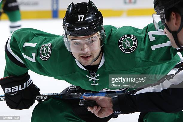 Devin Shore of the Dallas Stars during a game against the St Louis Blues at the American Airlines Center on December 20 2016 in Dallas Texas