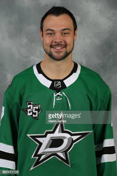 Devin Shore of the Dallas Stars poses for his official headshot for the 20172018 season on September 14 2017 at the Dr Pepper Star Center in Frisco...