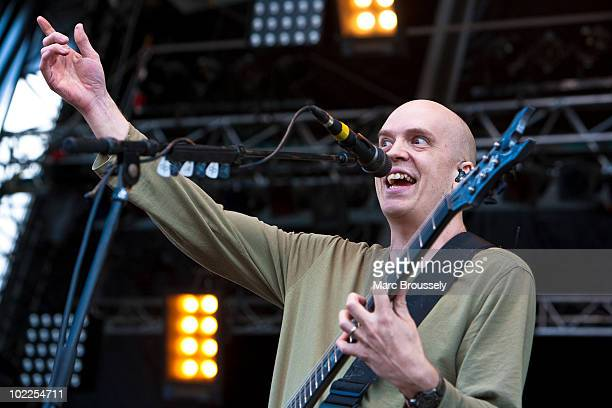 Devin Townsend of The Devin Townsend Project performs on stage at Hellfest Festival on June 20 2010 in Clisson France