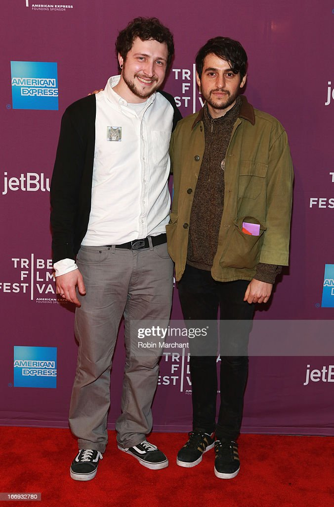 Devin Yuceil and Danilo Parra attends the 'Lil Bub & Friendz' world premiere during the 2013 Tribeca Film Festival on April 18, 2013 in New York City.