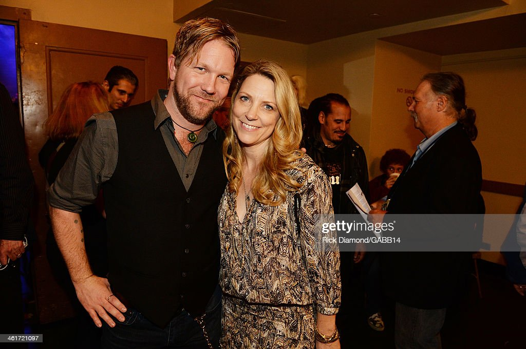 Devon Allman and Susan Tedeschi attend All My Friends: Celebrating the Songs & Voice of Gregg Allman at The Fox Theatre on January 10, 2014 in Atlanta, Georgia.