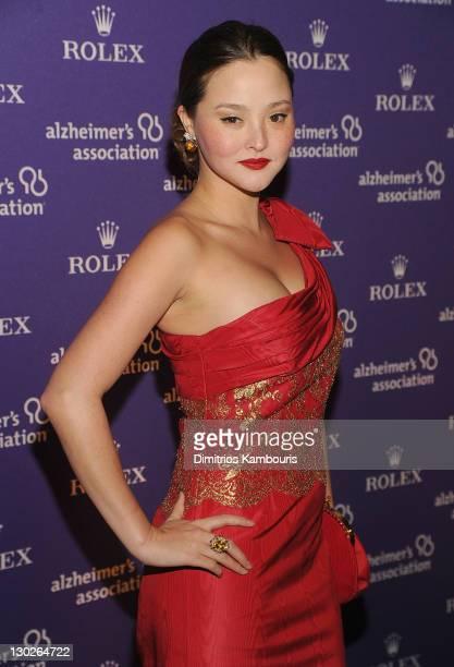 Devon Aoki attends the 2011 Rita Hayworth Gala at The Waldorf=Astoria on October 25 2011 in New York City