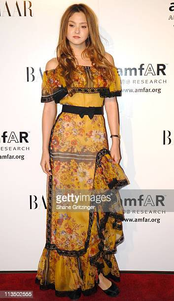 Devon Aoki during 15th Annual amfAR Rocks Benefit at The Puck Building in New York City New York United States