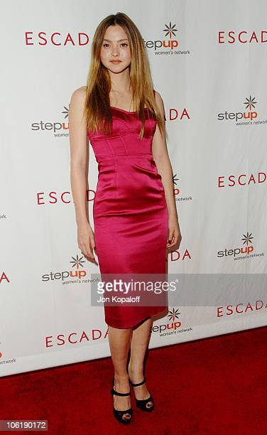 Devon Aoki during Escada And Jessica Alba Toast Step Up Women's Network April 19 2007 at Beverly Wilshire Hotel in Beverly Hills California United...