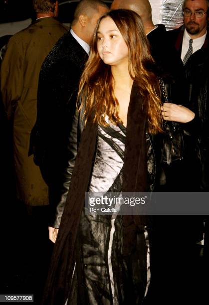 Devon Aoki during 'JayZ Fade To Black' New York City Premiere Arrivals at 40/40 Club in New York City New York United States