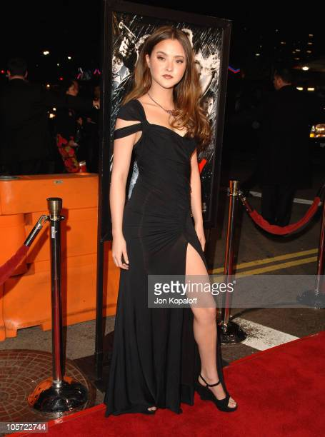 Devon Aoki during 'Sin City' Los Angeles Premiere Arrivals at Mann National Theater in Westwood California United States
