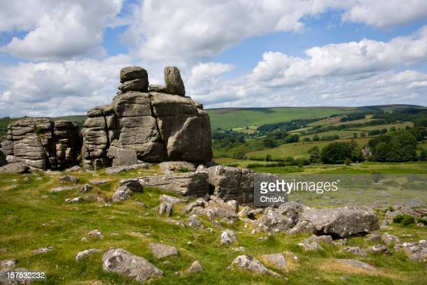 UK, Devon, Dartmoor, Hound Tor