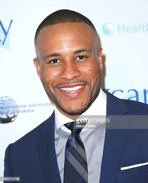 DeVon Franklin arrives at CARRY Annual Benefit Gala at Montage Beverly Hills on June 6 2014 in Beverly Hills California