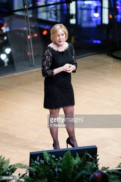 Devon Graham Hammonds speaks at the 2017 AE Networks Upfront At Jazz At Lincoln Center's Frederick P Rose Hall on March 21 2017 in New York City