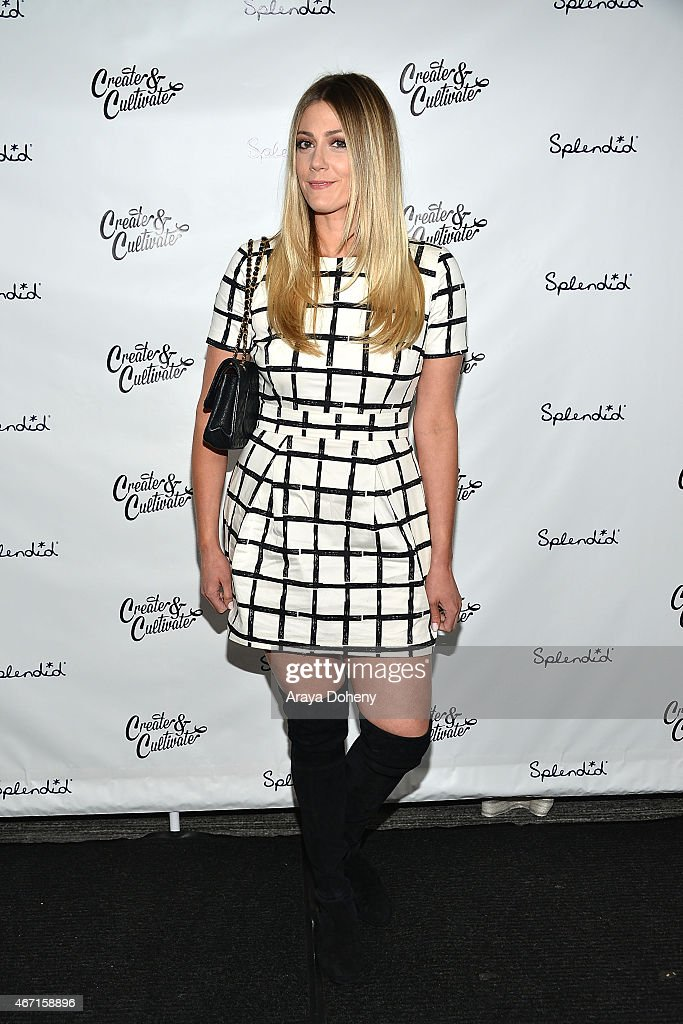 Devon Rachel attends the Create & Cultivate's Speaker Celebration at The Line Hotel on March 20, 2015 in Los Angeles, California.