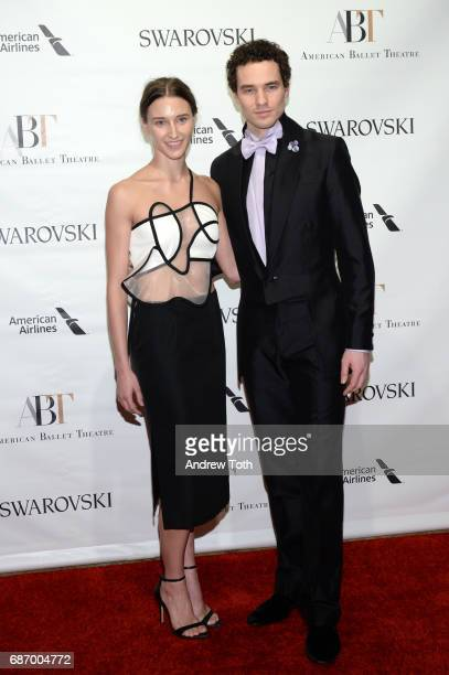Devon Reuscher and Cory Sterns attend the American Ballet Theatre Spring 2017 Gala at The Metropolitan Opera House on May 22 2017 in New York City