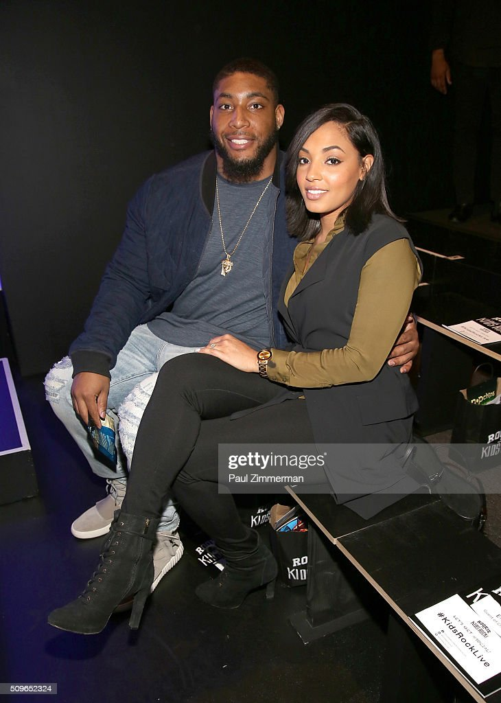 <a gi-track='captionPersonalityLinkClicked' href=/galleries/search?phrase=Devon+Still&family=editorial&specificpeople=6400915 ng-click='$event.stopPropagation()'>Devon Still</a> (L) and Asha Tillison attend the Rookie USA Presents Kids Rock! - Front Row & Backstage - Fall 2016 New York Fashion Week: The Shows at Skylight at Moynihan Station on February 11, 2016 in New York City.