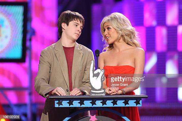 Devon Werkheiser and Kristin Cavallari presenters