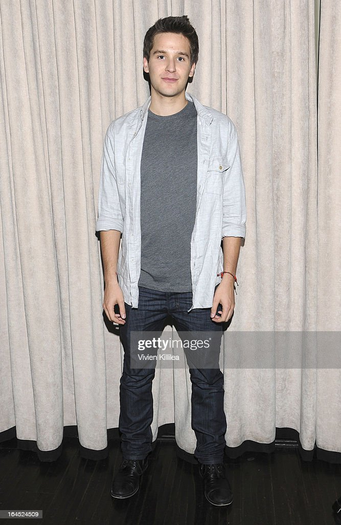 <a gi-track='captionPersonalityLinkClicked' href=/galleries/search?phrase=Devon+Werkheiser&family=editorial&specificpeople=583997 ng-click='$event.stopPropagation()'>Devon Werkheiser</a> attends Rock Way Fundraiser at Beso on March 23, 2013 in Hollywood, California.