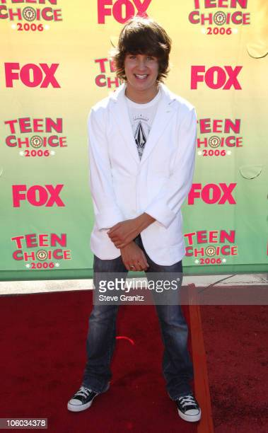 Devon Werkheiser during 2006 Teen Choice Awards Arrivals at Gibson Amphitheatre in Universal City California United States