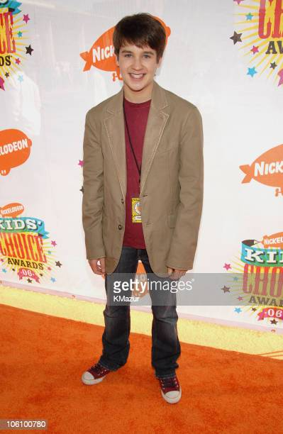 Devon Werkheiser during Nickelodeon's 19th Annual Kids' Choice Awards Orange Carpet at Pauley Pavilion in Westwood California United States
