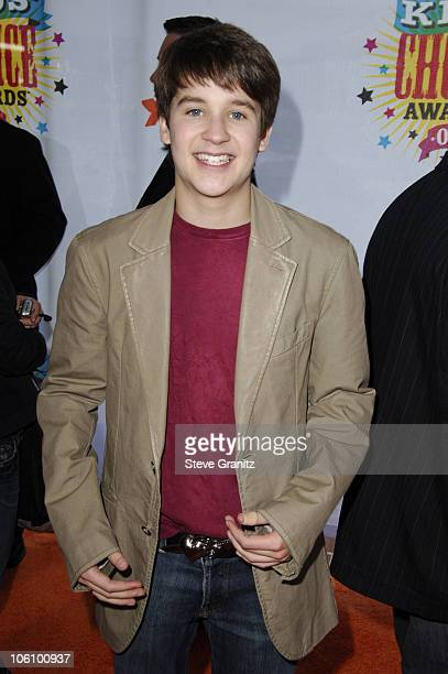 Devon Werkheiser during Nickelodeon's 19th Annual Kids' Choice Awards Arrivals at Pauley Pavilion in Westwood California United States