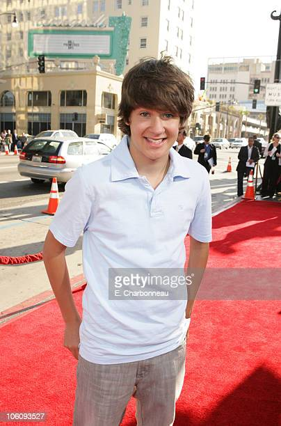 Devon Werkheiser during World Premiere of Paramount Pictures' 'Nacho Libre' at Grauman's Chinese Theatre in Los Angeles California United States