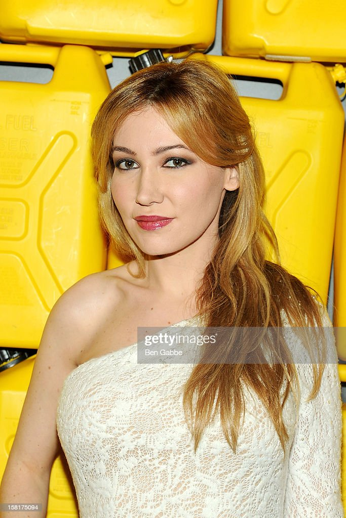Devorah Rose attends 7th Annual Charity Ball Benefiting Charity:Water at the 69th Regiment Armory on December 10, 2012 in New York City.