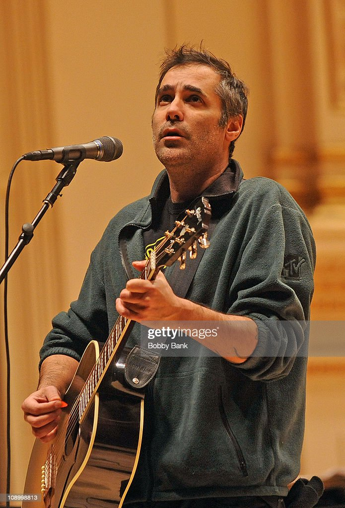DeVotchKa rehearses for The Music of Neil Young at Carnegie Hall on February 10, 2011 in New York City.