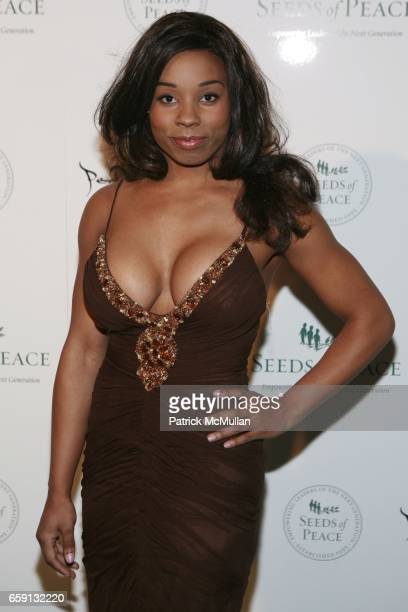 Devyn Simone attends Peace Market 2009 For SEEDS OF PEACE Hosted by IVANKA TRUMP at Cipriani Wall Street on February 19 2009 in New York City