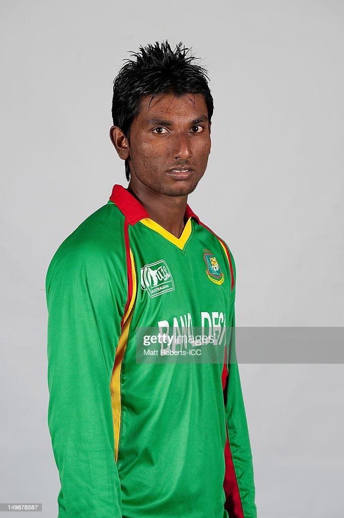 Dewan Shabbir Ahmed of Bangladesh poses during a ICC U19 Cricket World Cup 2012 portrait session at Allan Border Field on August 6, 2012 in Brisbane, Australia.