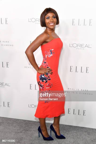 DeWanda Wise attends ELLE's 24th Annual Women in Hollywood Celebration presented by L'Oreal Paris Real Is Rare Real Is A Diamond and CALVIN KLEIN at...