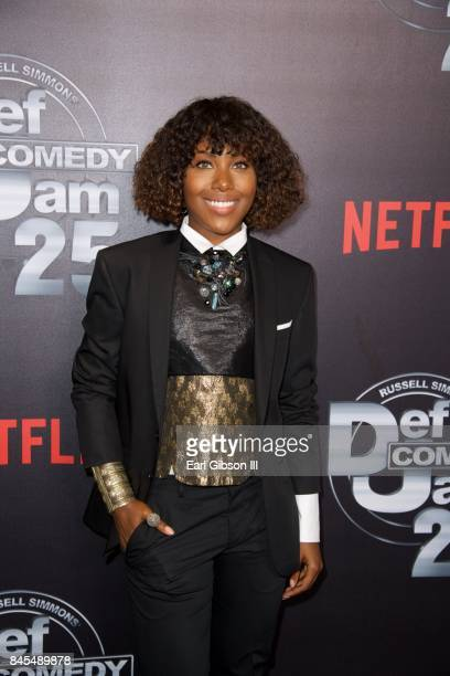 DeWanda Wise attends Netflix Presents Russell Simmons 'Def Comedy Jam 25' Special Event at The Beverly Hilton Hotel on September 10 2017 in Beverly...
