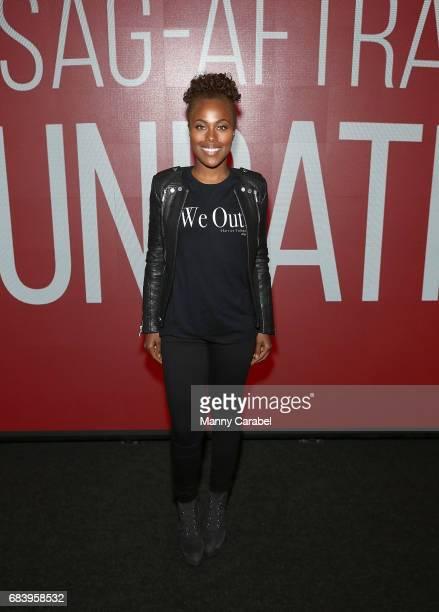 DeWanda Wise attends SAGAFTA Foundation Coversations with Aisha Hinds Alano Miller Amirah Vann and DeWanda Wise of 'Underground' at SAGAFTRA...