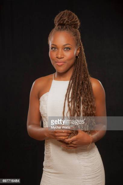 Dewanda Wise Poses for a Portrait on Day 3 of the American Black Film Festival on June 14 2017 in Miami Florida