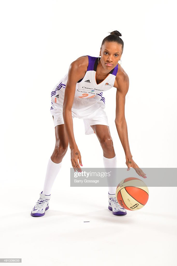 DeWanna Bonner #24 of the Phoenix Mercury poses for a photo during the Phoenix Mercury Media Day on May 13, 2014 at US Airways Center in Phoenix, Arizona.