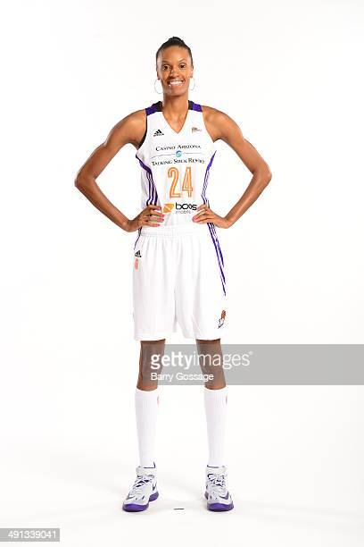 DeWanna Bonner of the Phoenix Mercury poses for a photo during the Phoenix Mercury Media Day on May 13 2014 at US Airways Center in Phoenix Arizona...