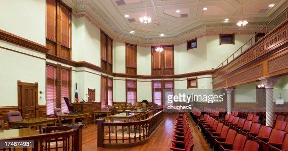 テキサス法廷 Panarama デウィット郡