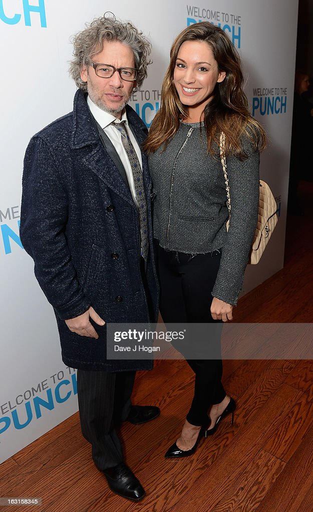 Dexter Fletcher and Kelly Brook attend the 'Welcome To The Punch' UK Premiere at the Vue West End on March 5, 2013 in London, England.
