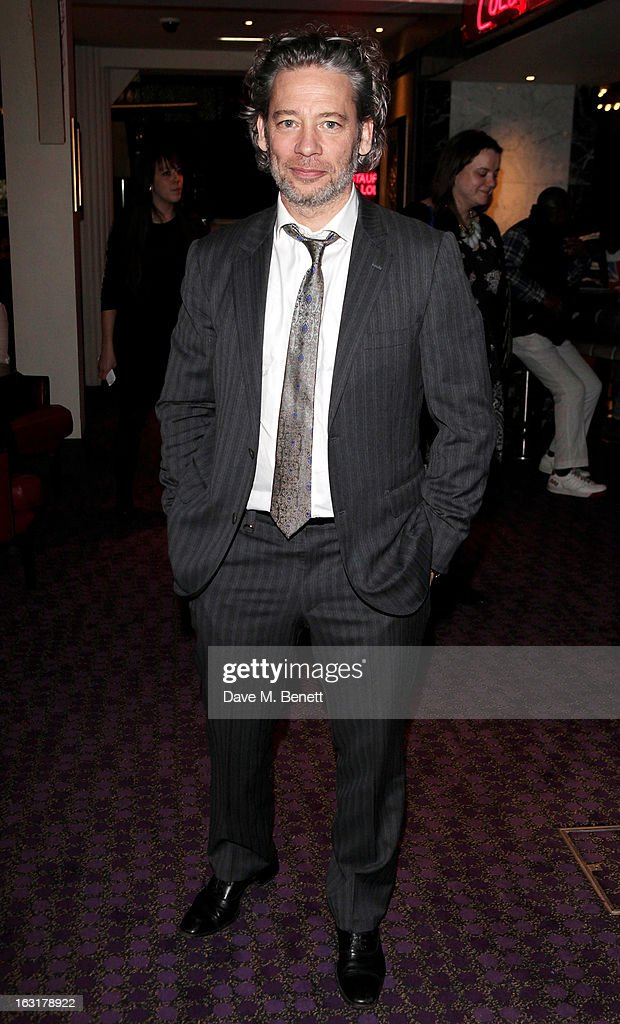 Dexter Fletcher attends an after party following the 'Welcome To The Punch' UK Premiere at the Hippodrome Casino on March 5, 2013 in London, England.