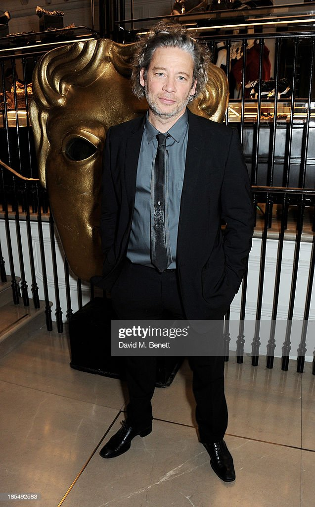 <a gi-track='captionPersonalityLinkClicked' href=/galleries/search?phrase=Dexter+Fletcher&family=editorial&specificpeople=618749 ng-click='$event.stopPropagation()'>Dexter Fletcher</a> attends the BAFTA 'Breakthrough Brits' event at Burberry 121 Regent Street, London on October 21, 2013 in London, United Kingdom.