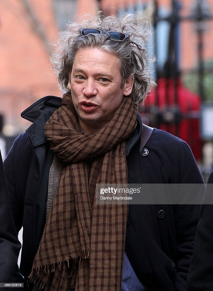 <a gi-track='captionPersonalityLinkClicked' href=/galleries/search?phrase=Dexter+Fletcher&family=editorial&specificpeople=618749 ng-click='$event.stopPropagation()'>Dexter Fletcher</a> attends the funeral of actor Roger Lloyd-Pack at St Paul's Church on February 13, 2014 in London, England.