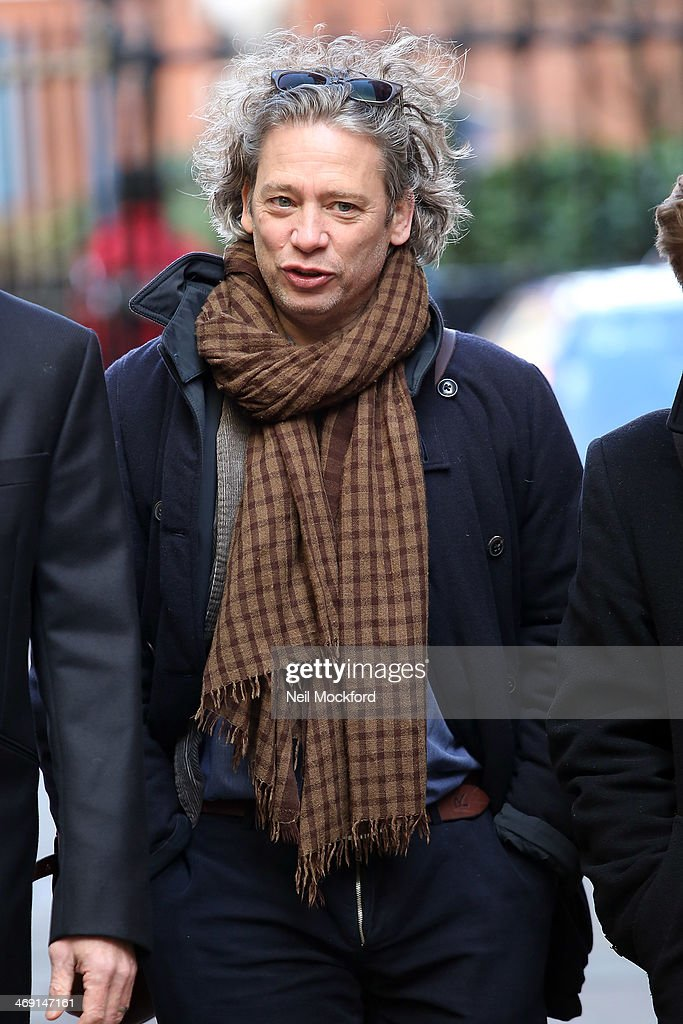Dexter Fletcher attends the funeral of Roger Lloyd-Pack at St Paul's Church in Covent Garden on February 13, 2014 in London, England.