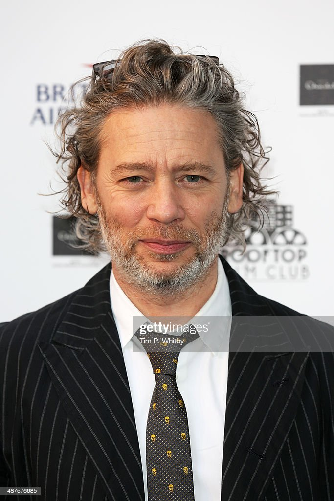 <a gi-track='captionPersonalityLinkClicked' href=/galleries/search?phrase=Dexter+Fletcher&family=editorial&specificpeople=618749 ng-click='$event.stopPropagation()'>Dexter Fletcher</a> attends the launch night of the Rooftop Film Club presented by British Airways at The Bussey Building on April 30, 2014 in London, England. The Rooftop Film Club presented by British Airways is a pop up film event where guests use headsets to watch films under the stars, running until September 30.
