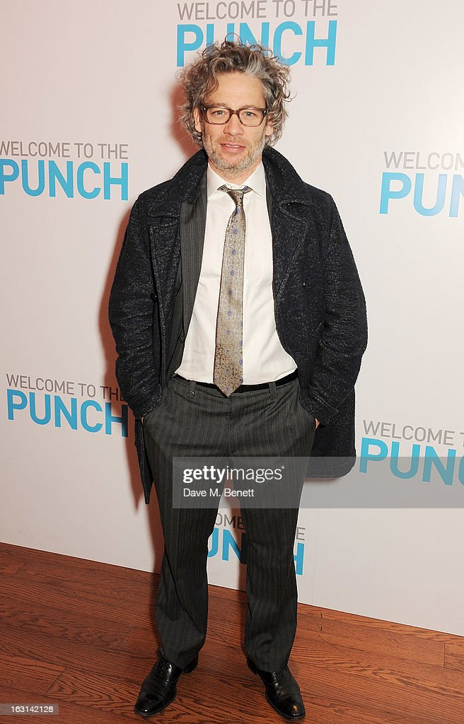 Dexter Fletcher attends the UK Premiere of 'Welcome To The Punch' at the Vue West End on March 5, 2013 in London, England.