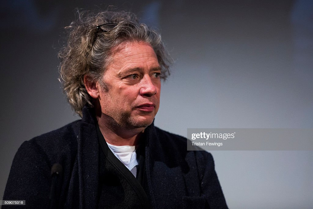 <a gi-track='captionPersonalityLinkClicked' href=/galleries/search?phrase=Dexter+Fletcher&family=editorial&specificpeople=618749 ng-click='$event.stopPropagation()'>Dexter Fletcher</a> introduces 'Nuts in May' as part of the BFI Screen Epiphanies series at BFI Southbank on February 8, 2016 in London, England.