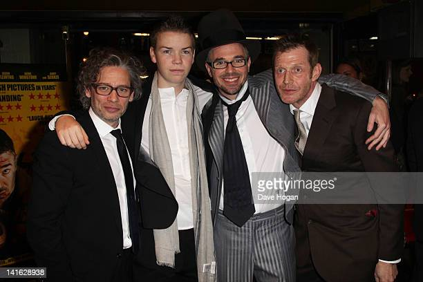 Dexter Fletcher Will Poulter Charlie Creed Miles and Leo Gregory attend the premiere of Wild Bill at The Cineworld Haymarket on March 20 2012 in...