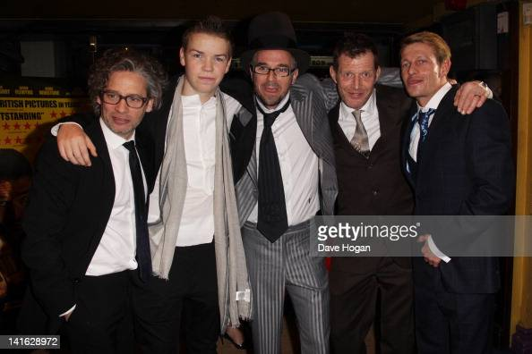 Dexter Fletcher Will Poulter Charlie Creed Miles Leo Gregory and Jason Flemyng attend the premiere of Wild Bill at The Cineworld Haymarket on March...