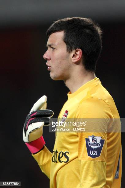 Deyan Iliev Arsenal goalkeeper