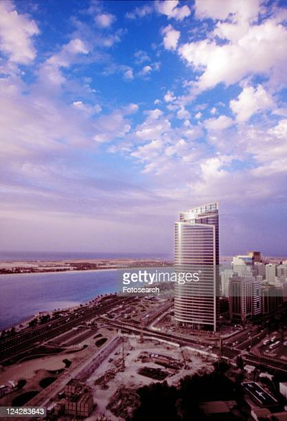 dhabi, side, sea, city, abu