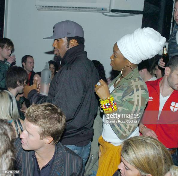 Dhani Jones and India Arie...