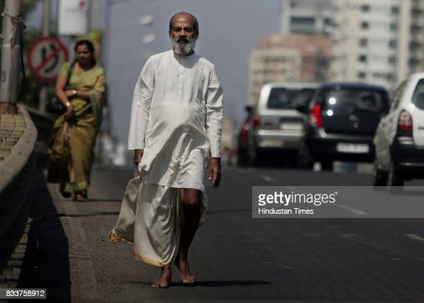 Dharampal Shetty walked a distance of 270 kms from Mumbai to Shirdi despite having a complete heart blockage Shetty who started a cardiac rehab...
