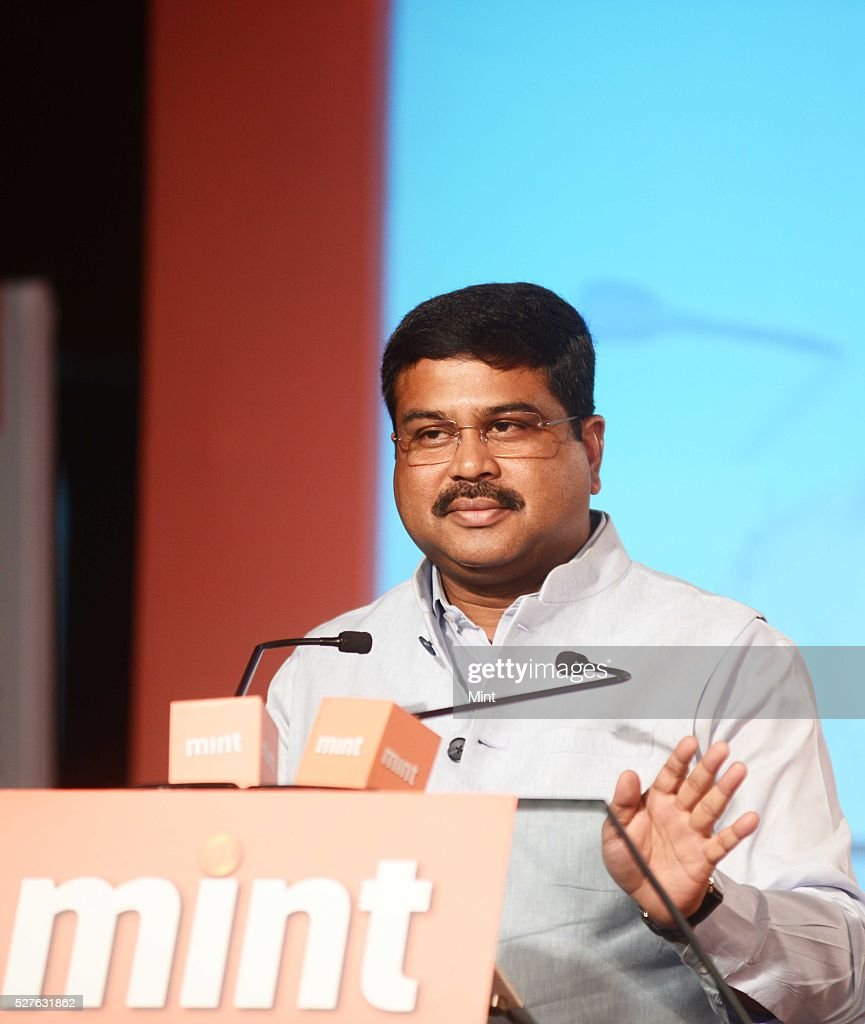 Dharmendra Pradhan - Minister for Petroleum & Natural Gas giving the Keynote address at Mint Annual Energy Conclave on August 28, 2015 in New Delhi, India.